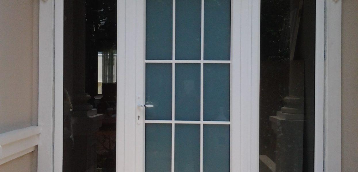 Pintu upvc swing : pintu classic dengan teknologi yang lebih modern