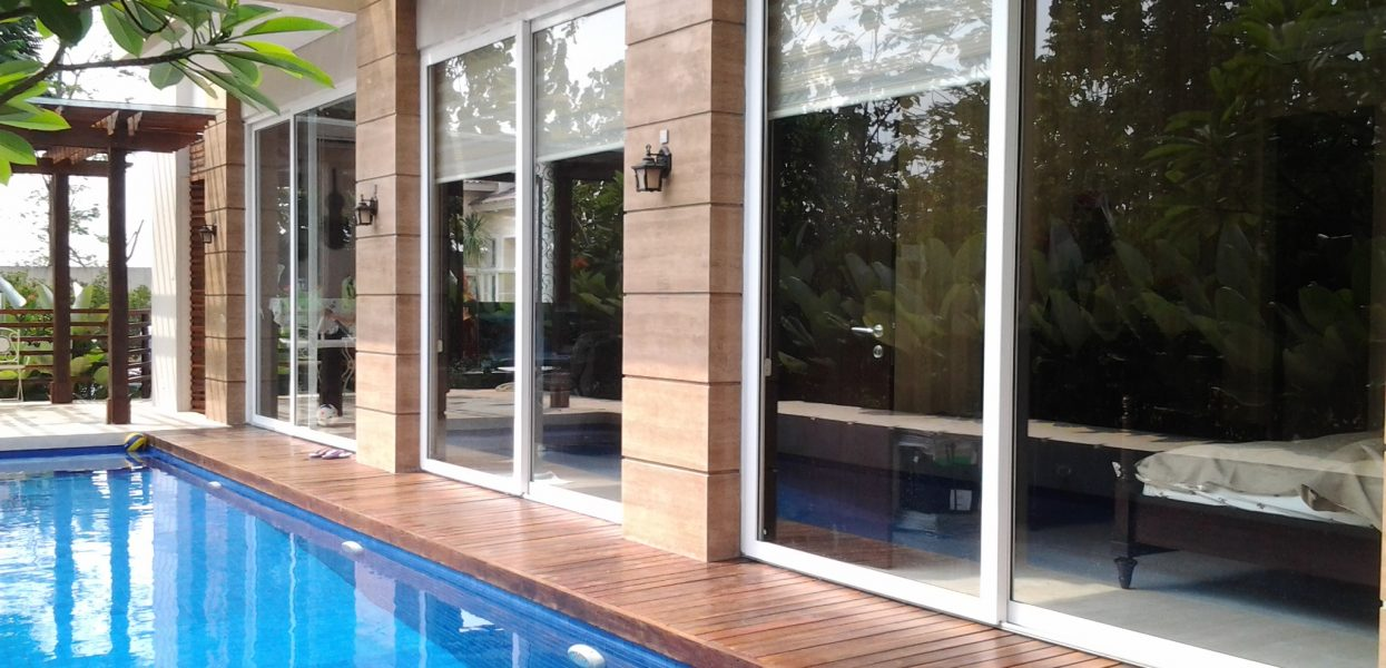 jendela upvc sliding : elegan dan fungsional