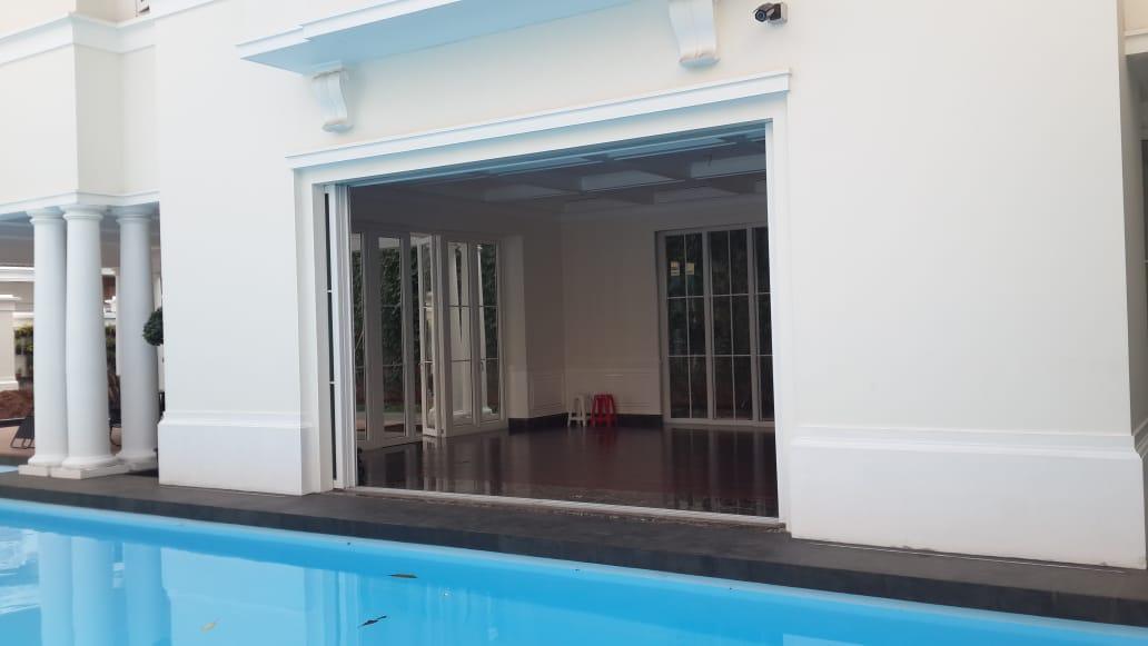 Pintu upvc sliding pocket : pintu sliding yang unik dan elegan