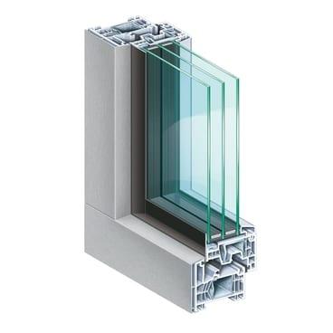Jendela upvc triple glazed untuk keamanan dan kenyamanan