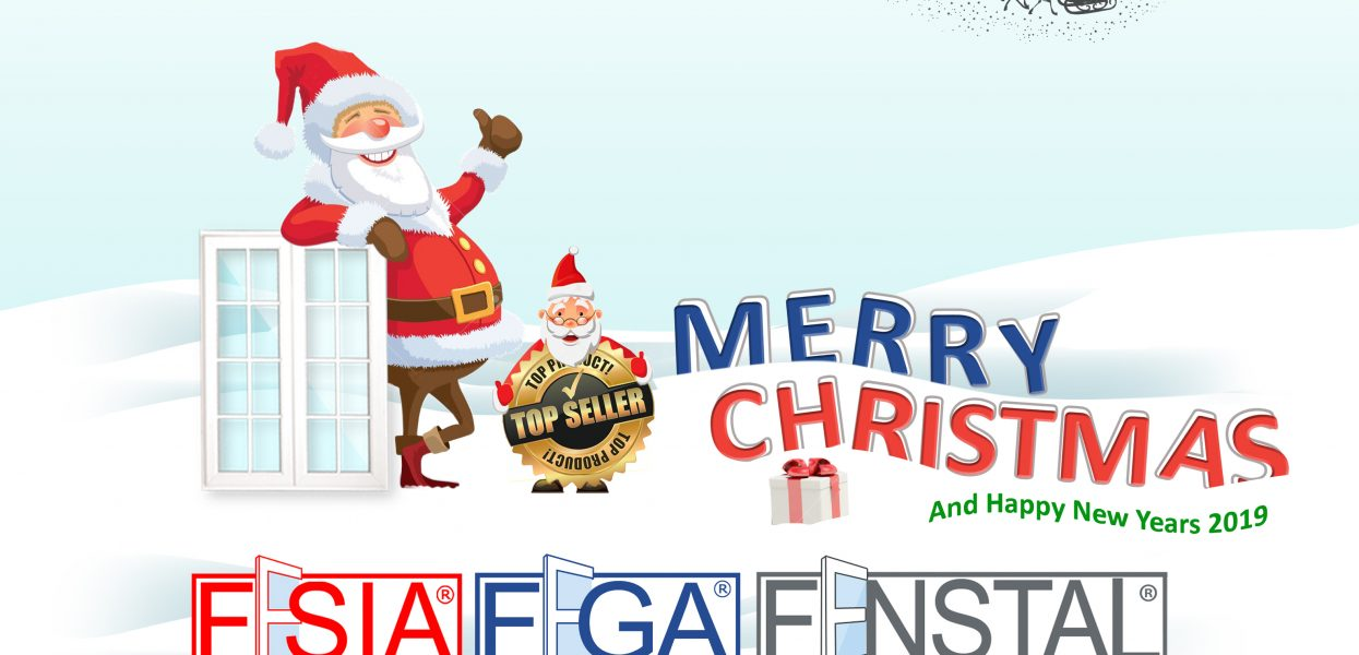 upvc FEGA FESIA mengucapkan Selamat Hari Natal dan Tahun Baru !
